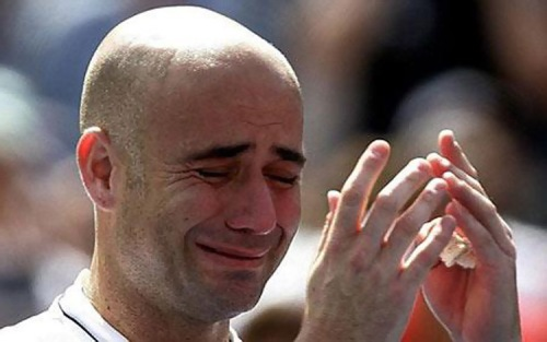 andre agassi crystal meth - drug use confession crying