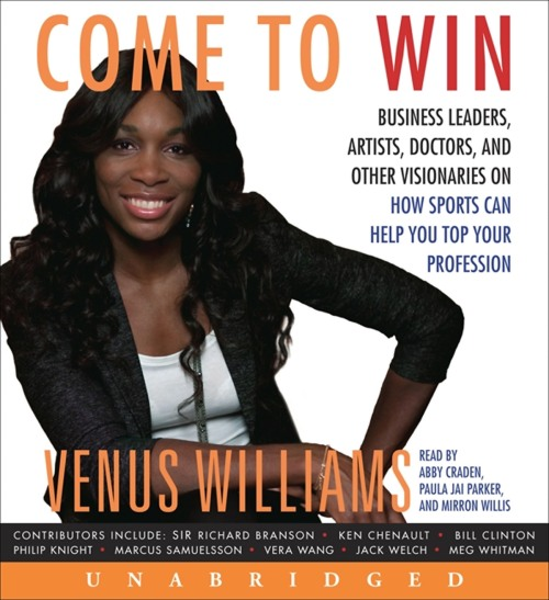 "Venus Williams ""Come to Win"" book"
