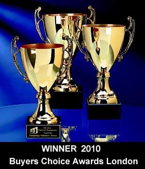 Buyers choice award London, UK - 2009