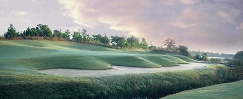Myrtle Beach barefoot golf resort - Davis Love Course