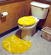 tennis bathroom tiles & toilets
