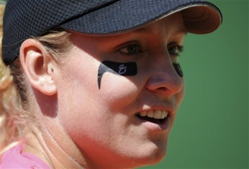 Bethanie Mattek Sands eye black tennis