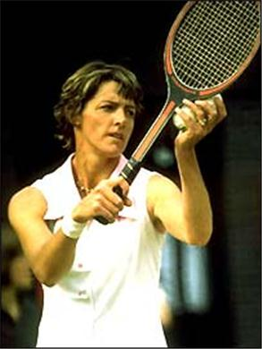 Margaret Court gay rights tennis