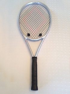 powerangle diagonally strung tennis racket