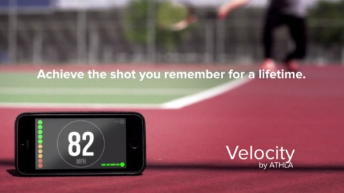 tennis speed app christmas gift